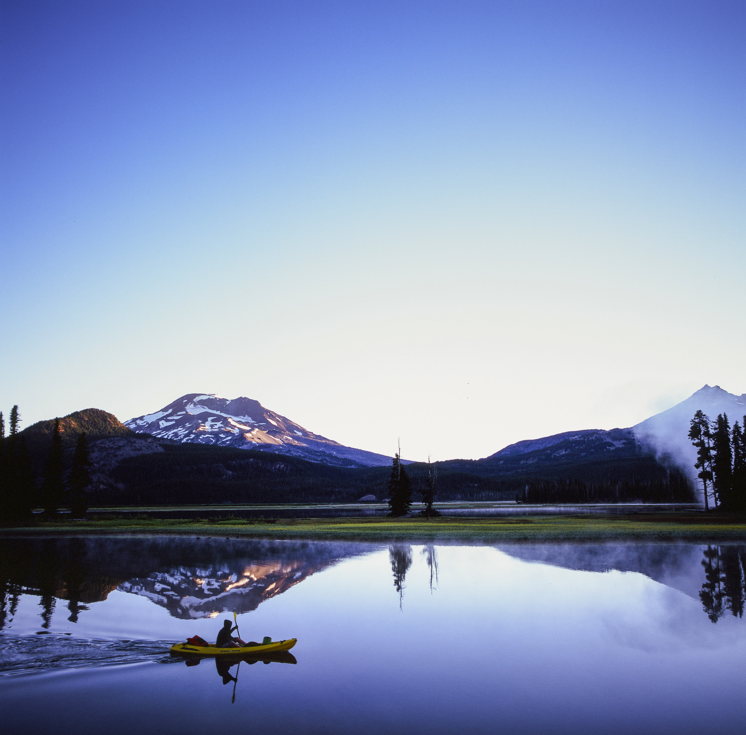 Kayaking on Sparks Lake